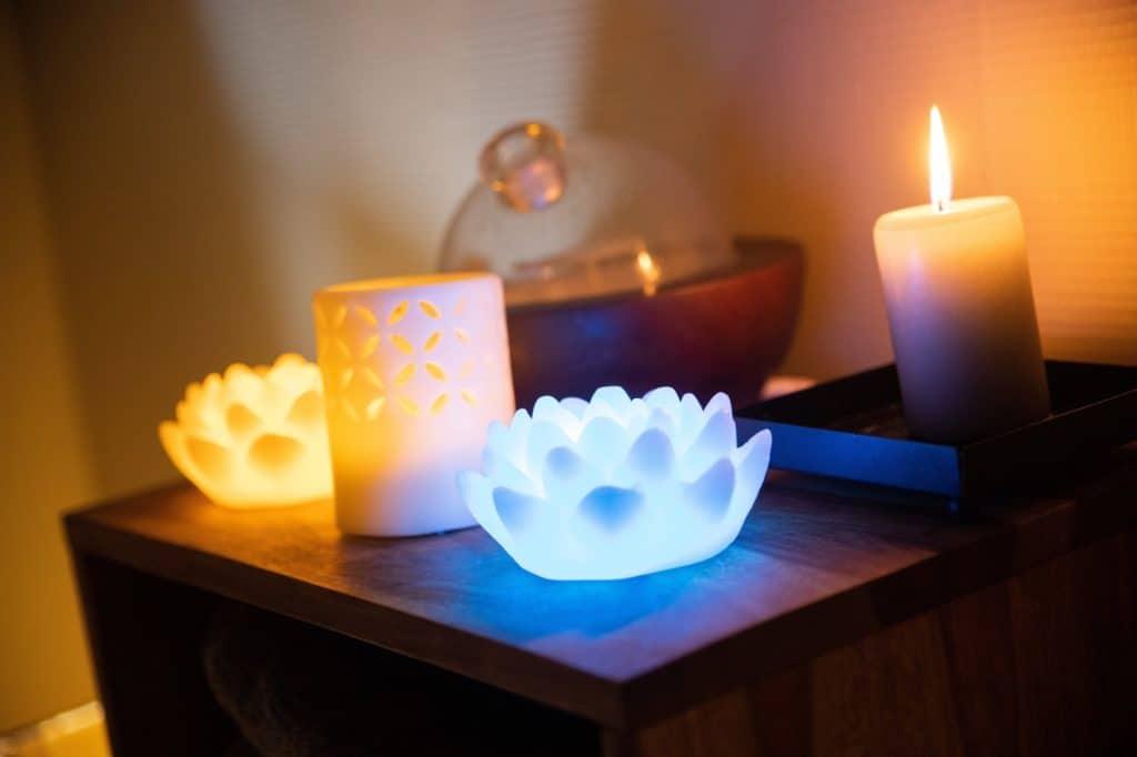 bougies massage